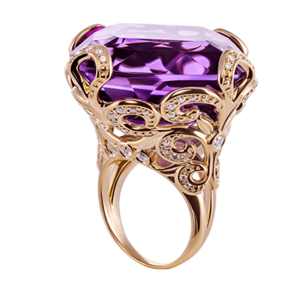 "Cocktail ring ""Queen"