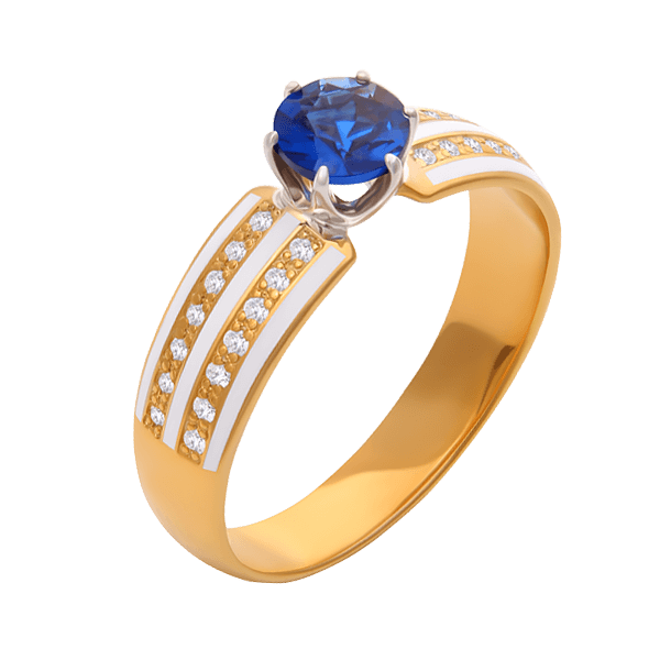 """Delight"" with a sapphire"