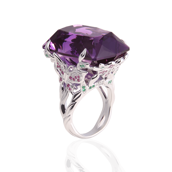 "Cocktail ring ""Vesta"""