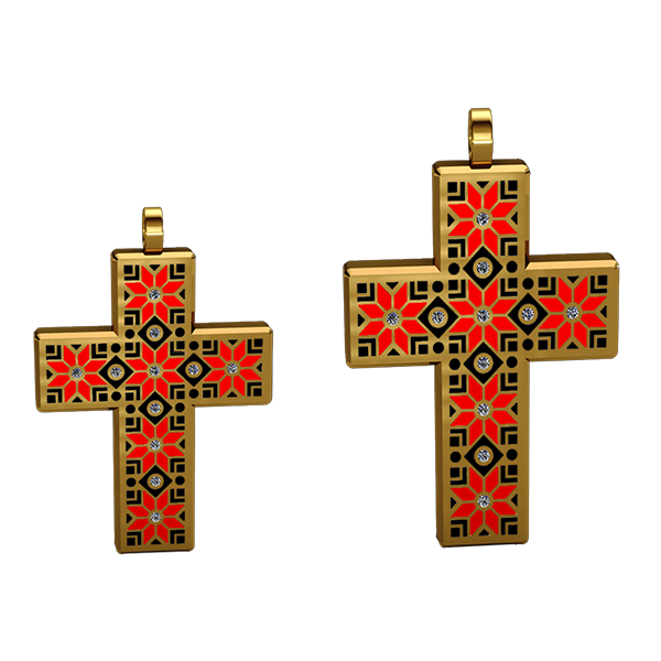 "Men`s cross ""Alatyr"""