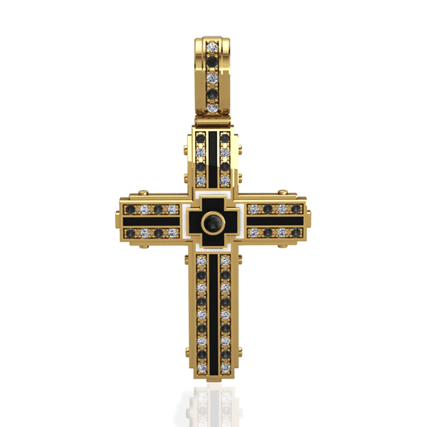 "Man's cross ""Caritas"""