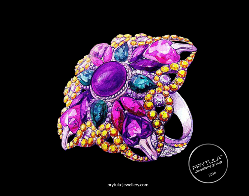 "Signet ""Purple Passion"""