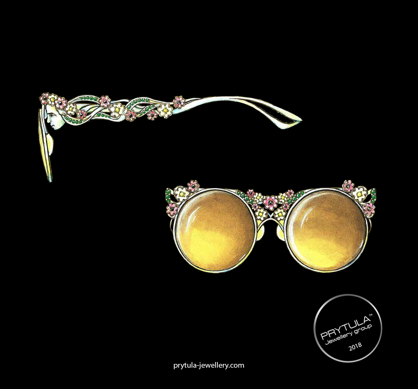 Gold glasses (Women