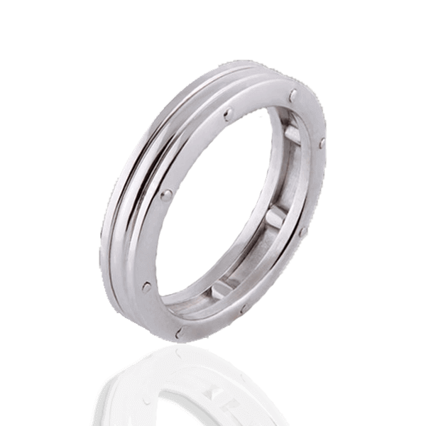 """Lines of Fate"" in white gold (man"