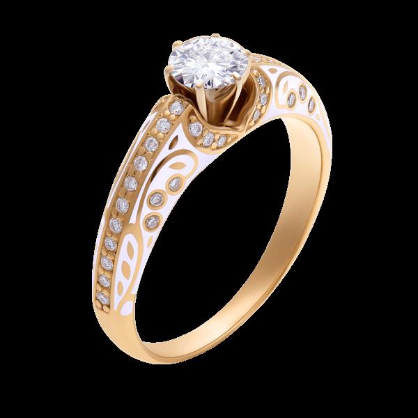 a305b4c979a296 Каблучки для заручин з діамантами та сапфірами на замовлення ...