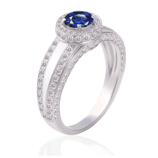"""Walk in Heaven"" with a sapphire"